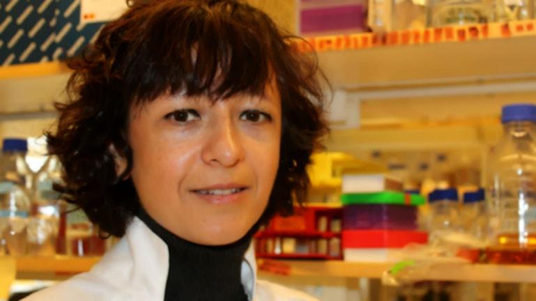 Emanuelle Charpentier i labb.