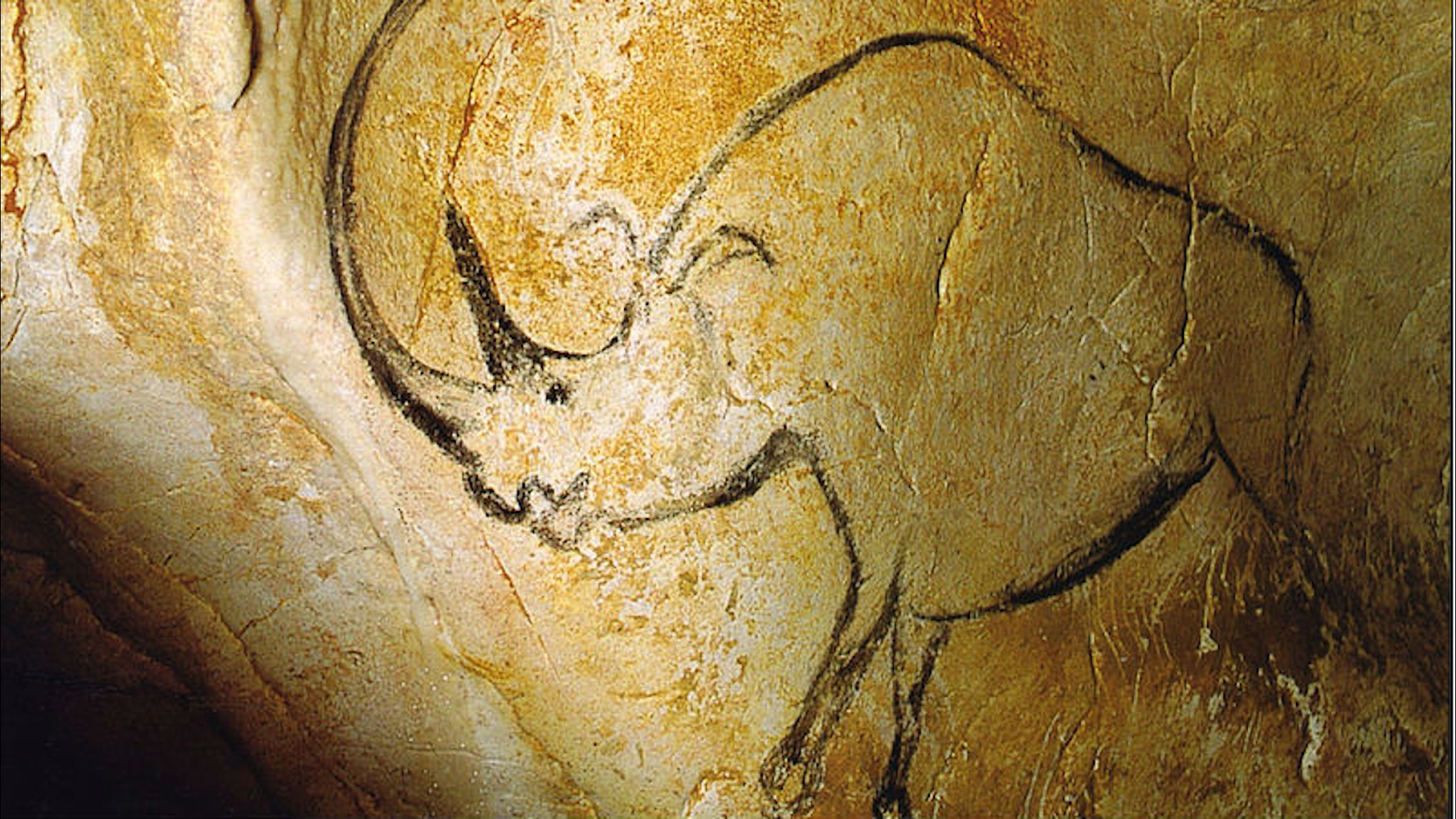 Noshörningsliknande målning
