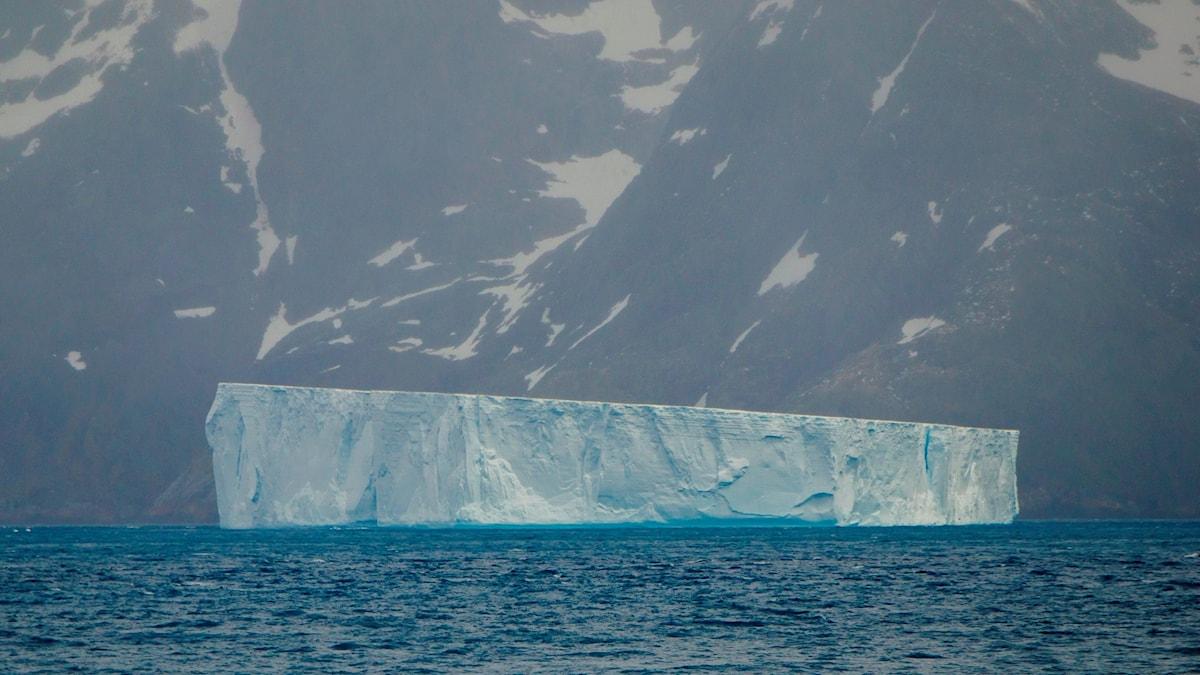 Isberg som flytit iväg