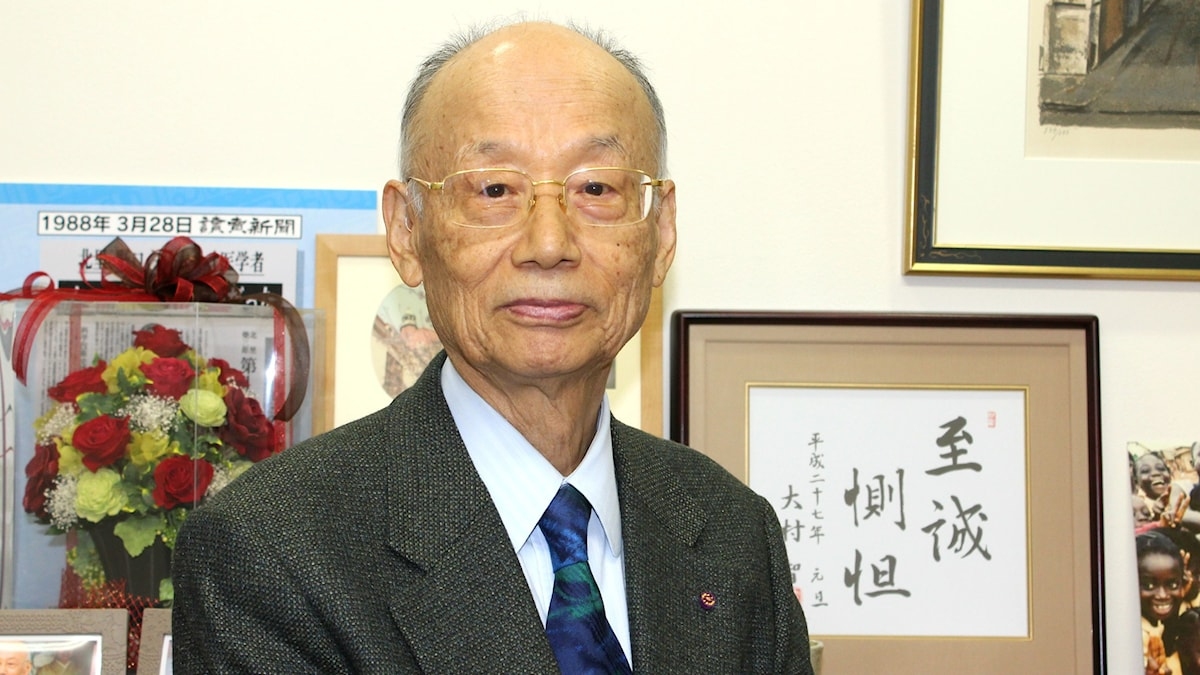 Satoshi Omura är en av 2015 års Nobelpristagare i fysiologi eller medicin.