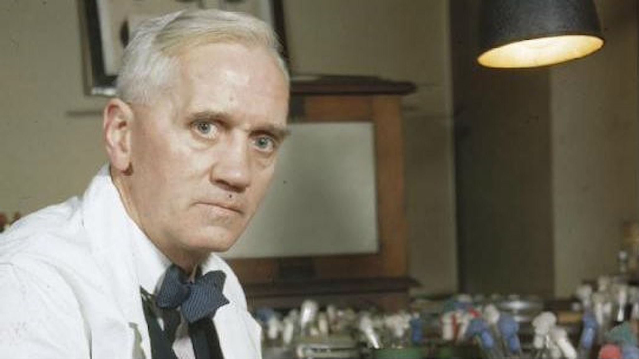 Alexander Fleming i labbet