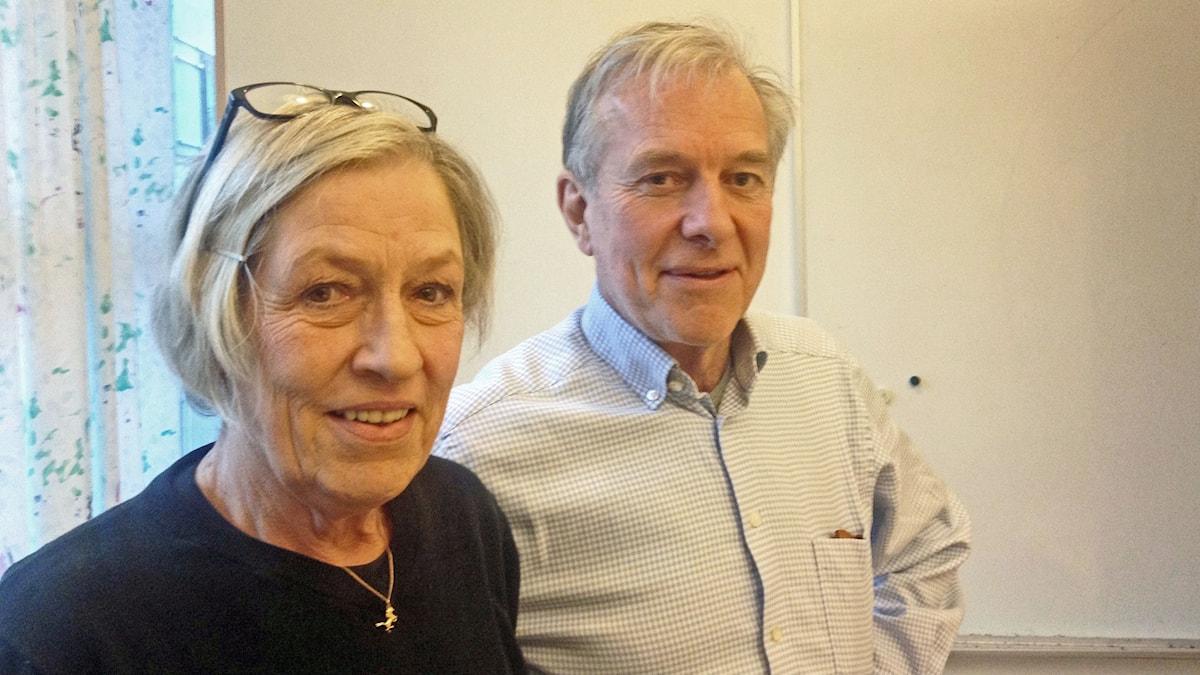 Troye Blomberg och Anders Björkman