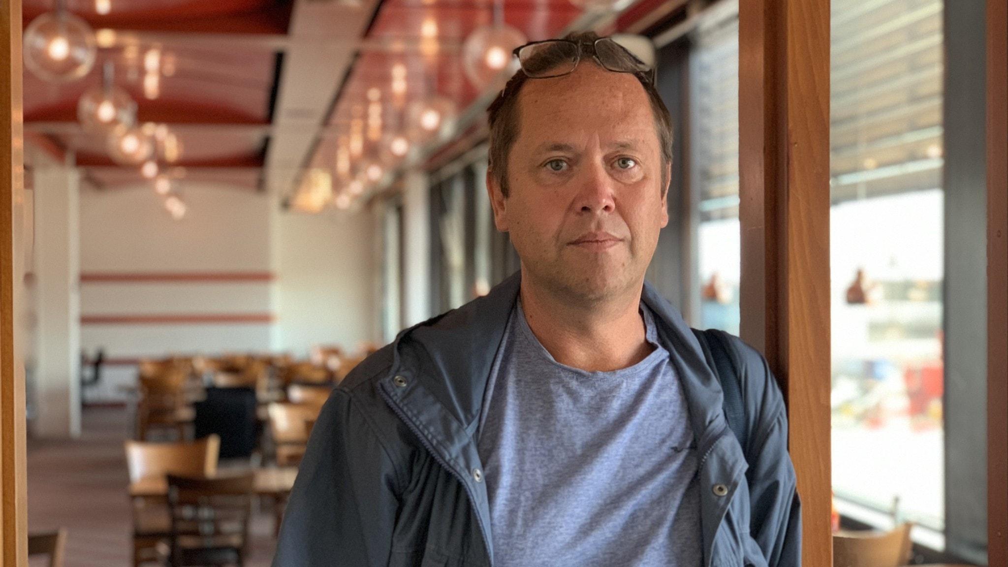 Magnus Hultin på Arlanda