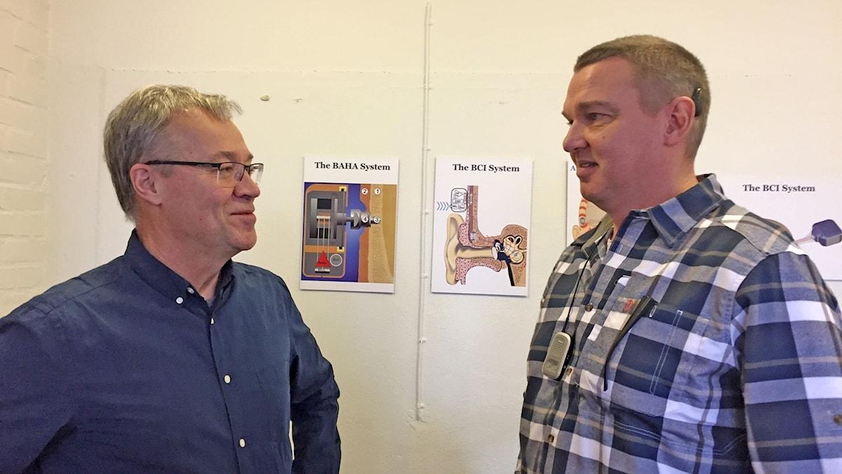 Bo Håkansson med Anders Salonen