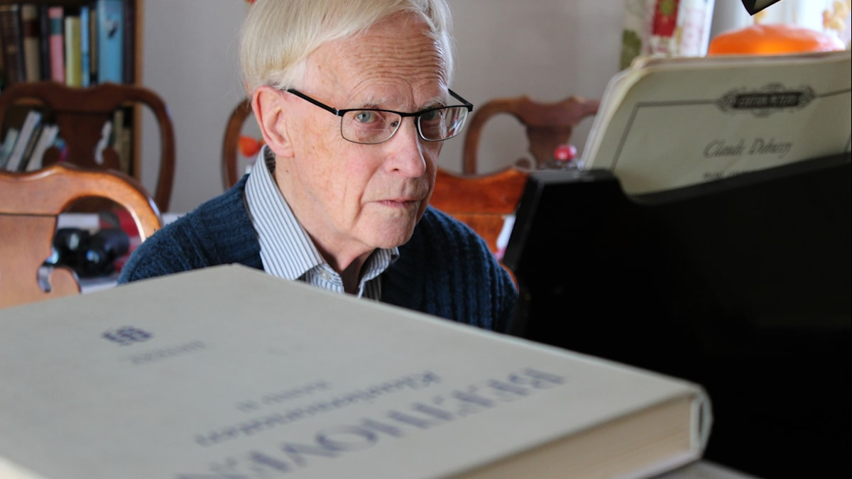 Porträtt av Alf Gabrielsson, musikpsykolog
