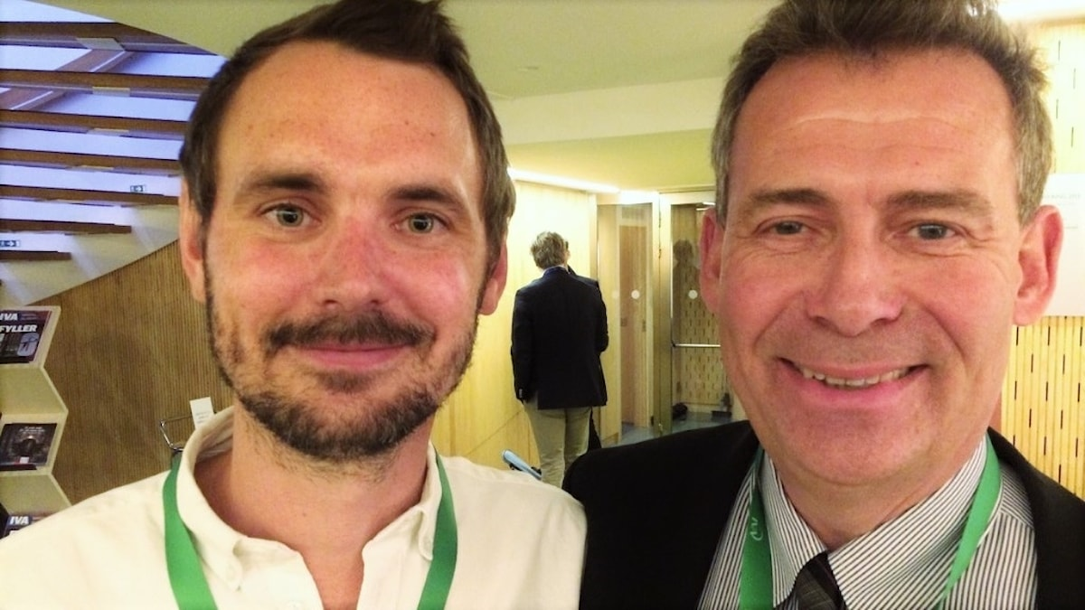 Linus Kullänger och Martin Schalling