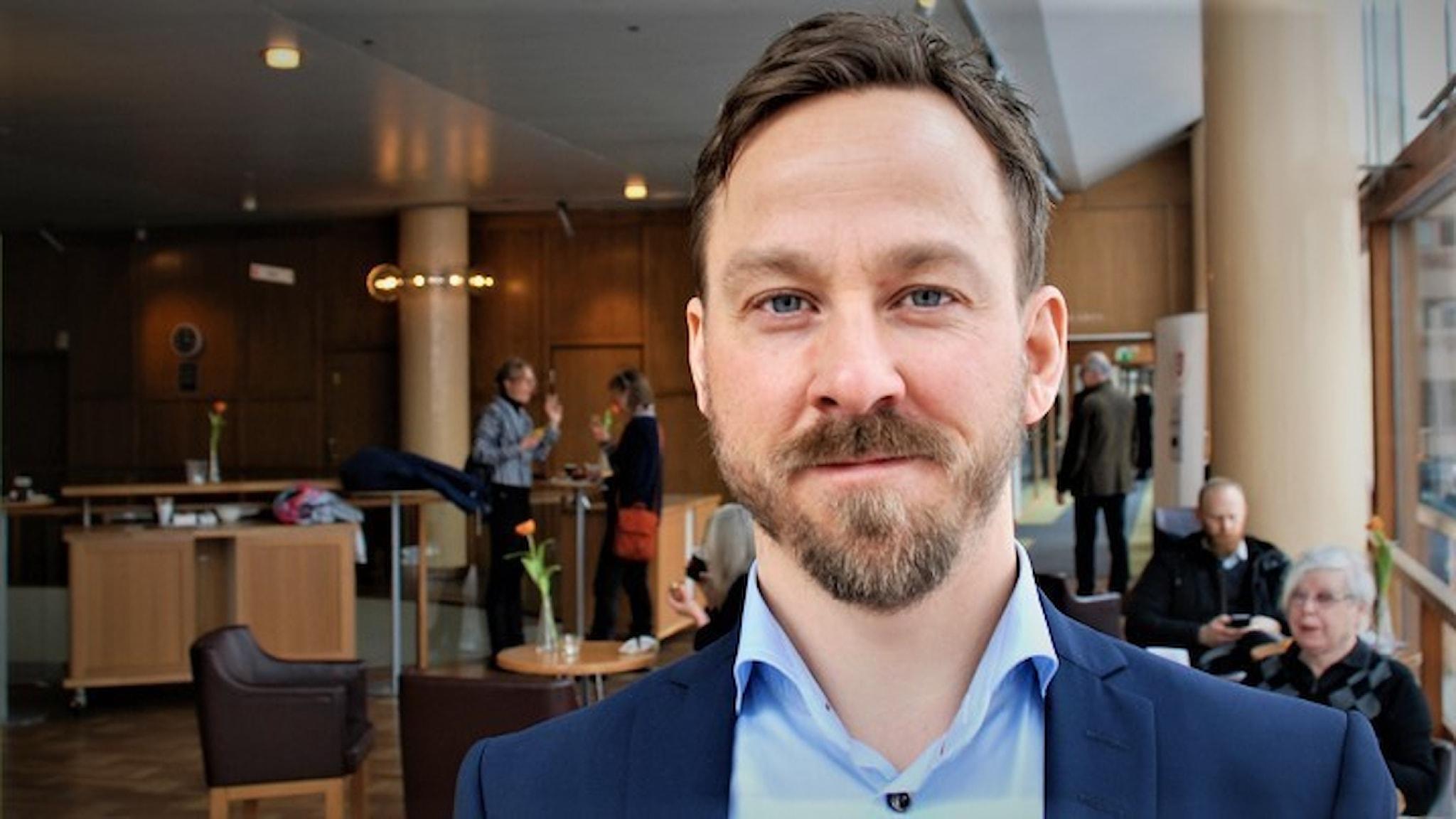 Henrik Larsson, professor i medicinsk vetenskap