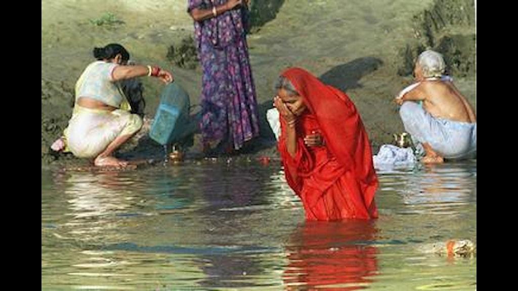 Är brunn verkligen bättre än Ganges-vatten? Foto PrB
