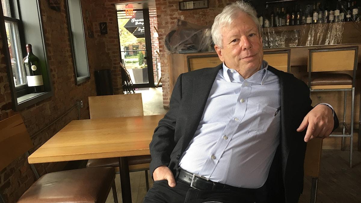 Richard Thaler i publiknande miljö