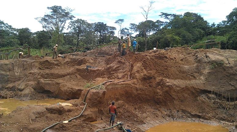 gruva och gruvarbetare