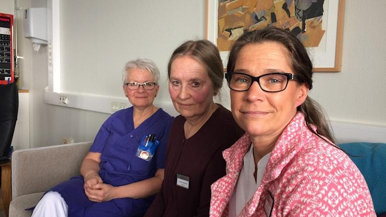 Kristina Wallqvist, Helén Carlsson och Annelie Lövborg