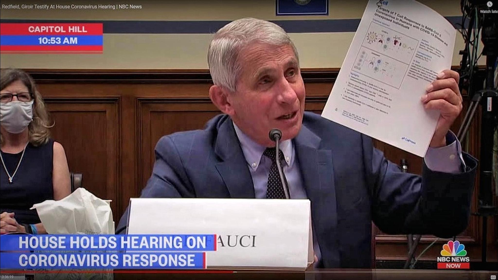 Anthony Fauci i Kongressen