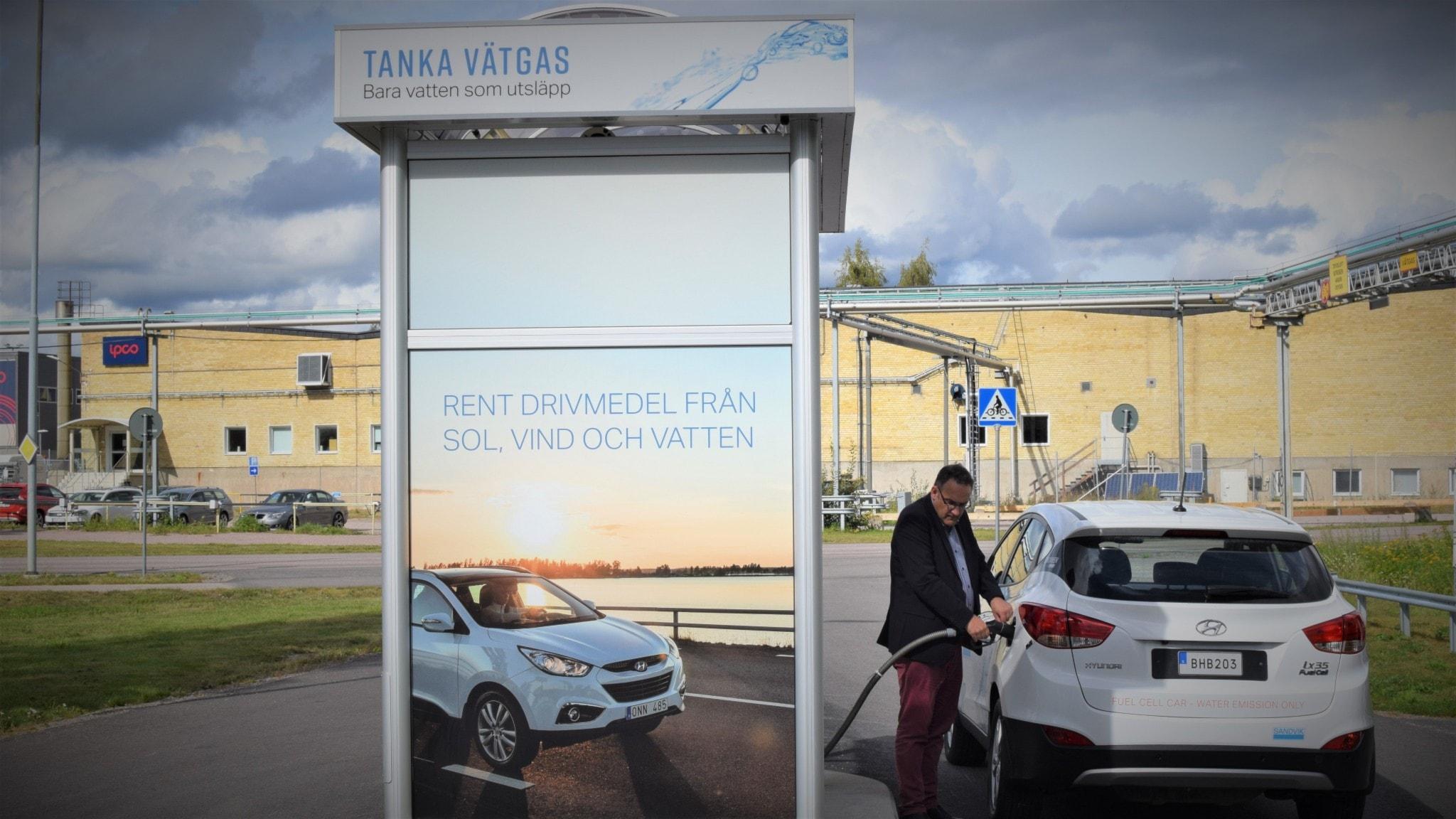 Vätgasen - framtidens smarta energibärare