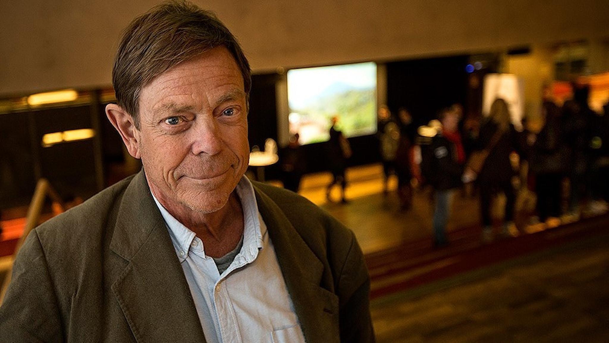 Forskaren Tomas Bergström