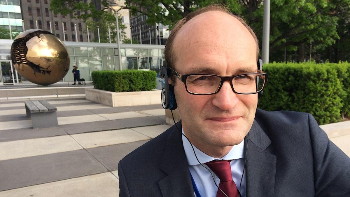 Jakob Granit framför FN-konferens