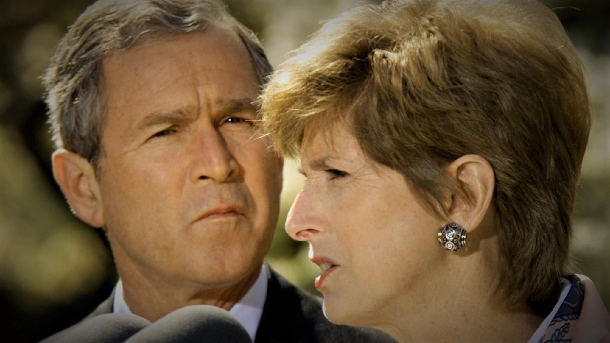 Christine Todd Whitman och George W Bush