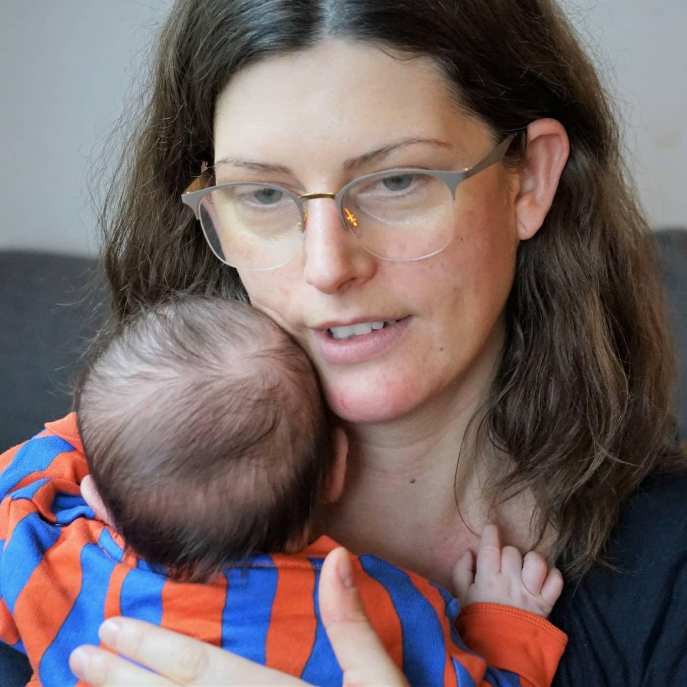 Postcovid – Sofia känner inte lukten av sin bebis
