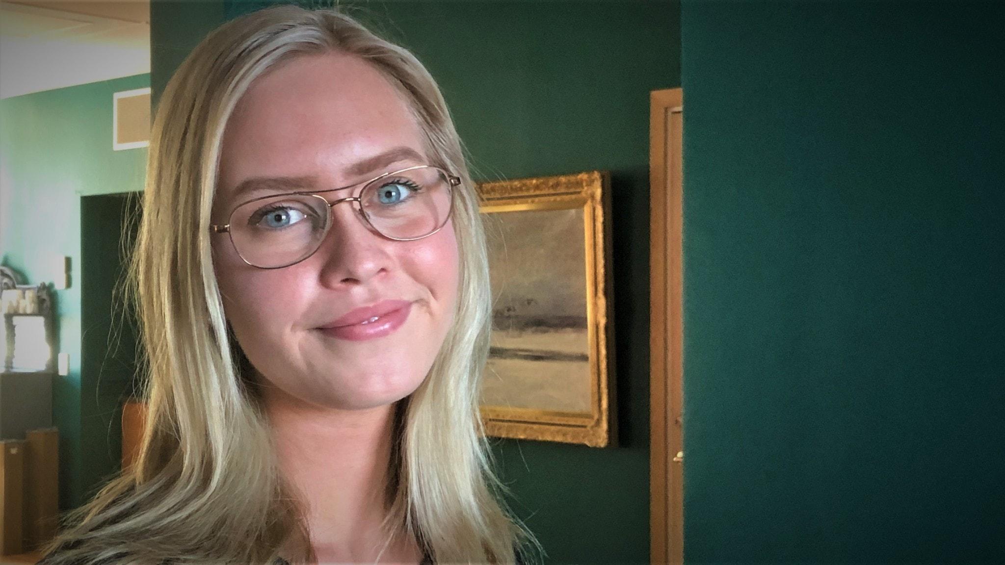 Emilia Bertilsson, student