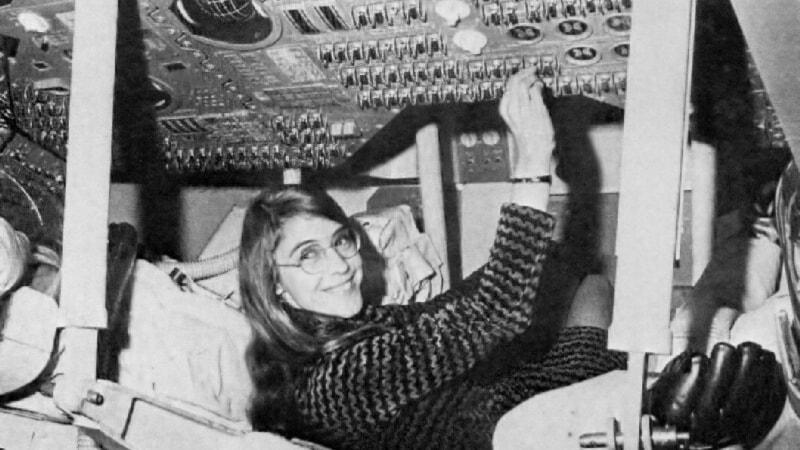 De historiska kvinnorna 4/4: Margaret Hamilton – hon flög oss till månen (R)
