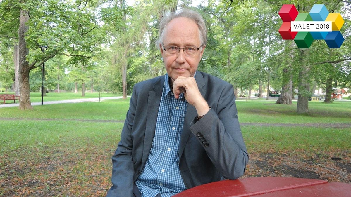 Idé- och lärdomshistorikern Sven Widmalm vid Uppsala universitet.