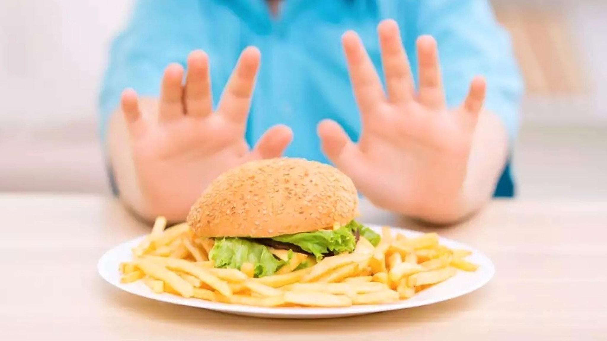 Barn och hamburgare