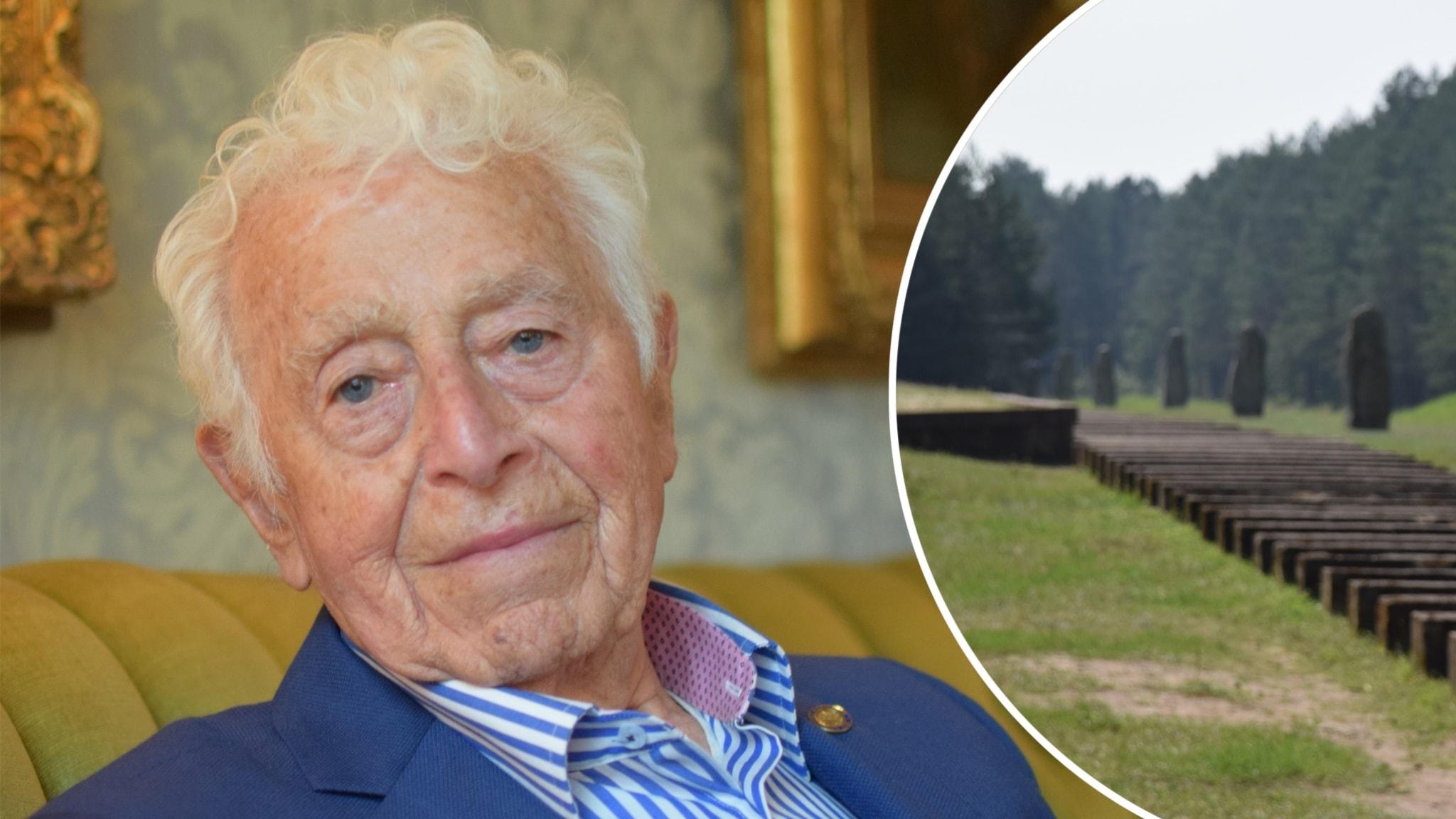 Leon Rytz, 91 år, vistades i Treblinka under vintern 1942-43. Han är en av ytterst få som finns kvar som kom levande ut från dödslägret.