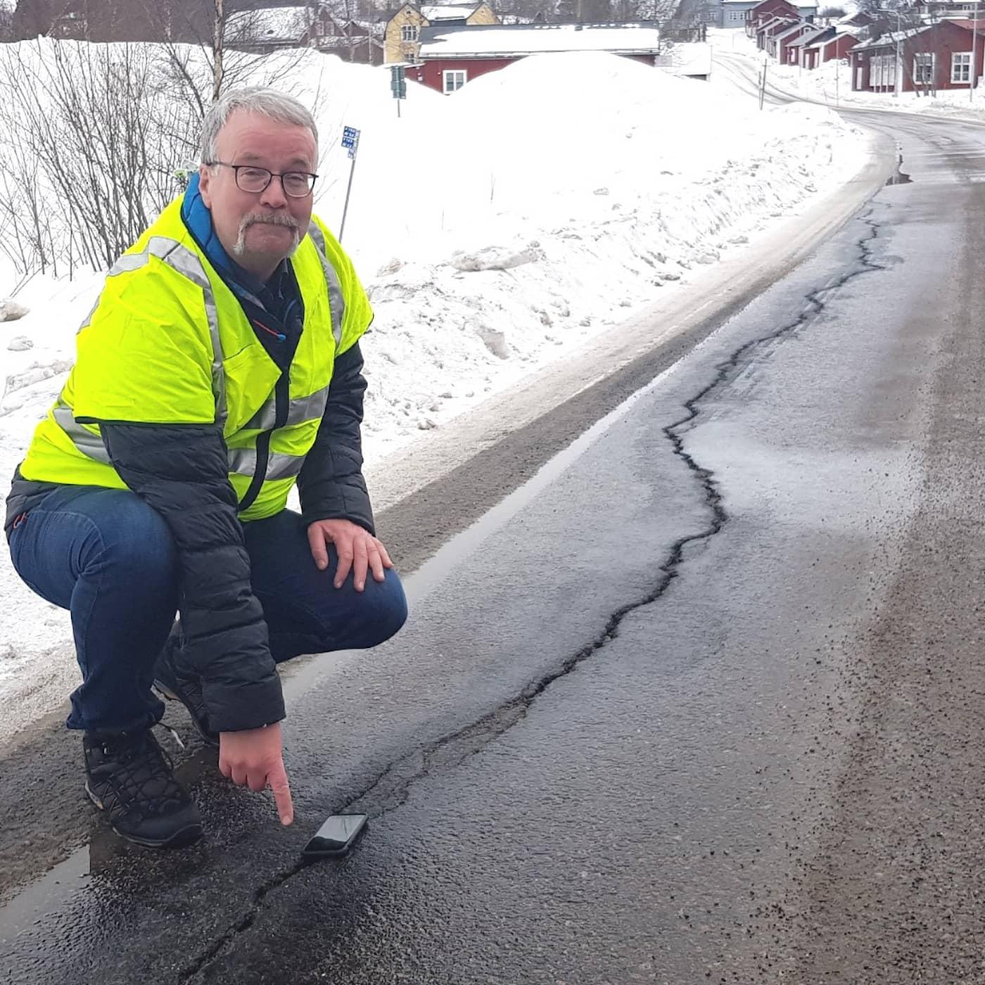 Så påverkas vägar och byggnader i en varmare nord