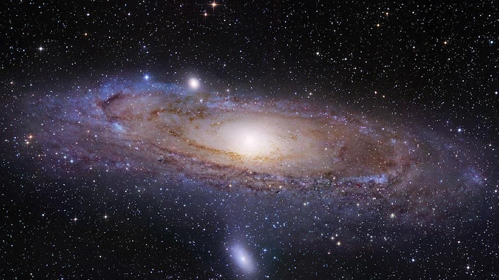 Andromeda. Bild: University of Utah