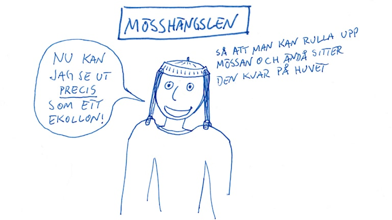 Mösshängslen. Bild: Jesper Rönndahl