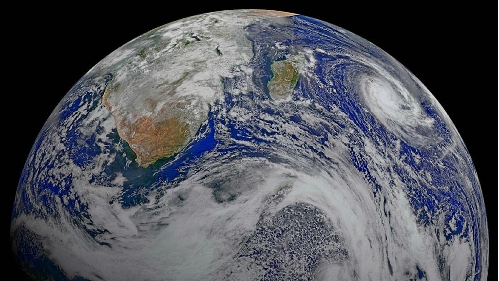Jorden. Foto: NASA/TT