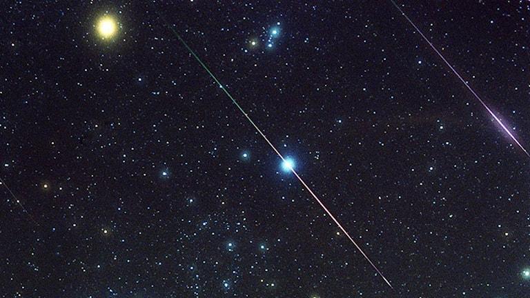 Stjärnhimmel. Foto: Johnny Horne