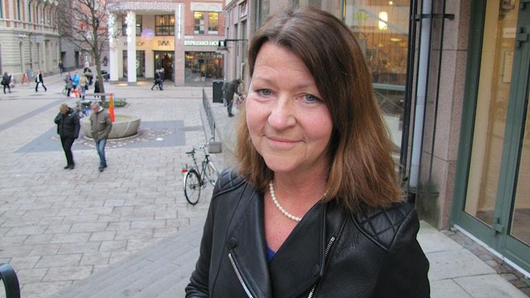 Carina Blomström-Lundqvist, professor och överläkare Akademiska sjukhuset Foto: Charlotte Delaryd/SR
