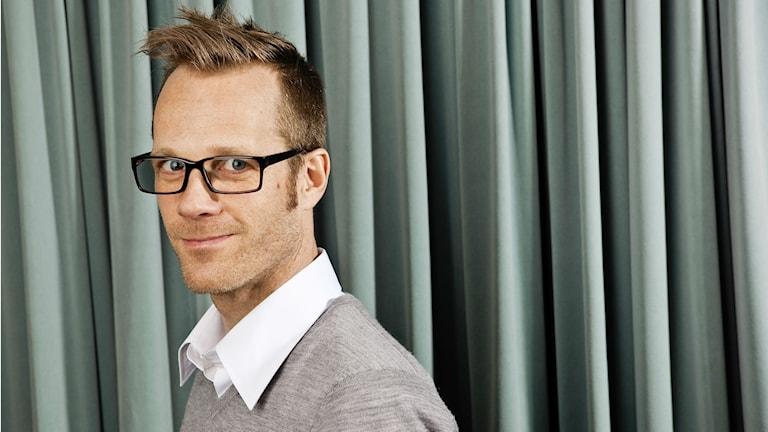 Porträttbild Lars Broström på Vetenskapsradion. Foto: Sveriges Radio