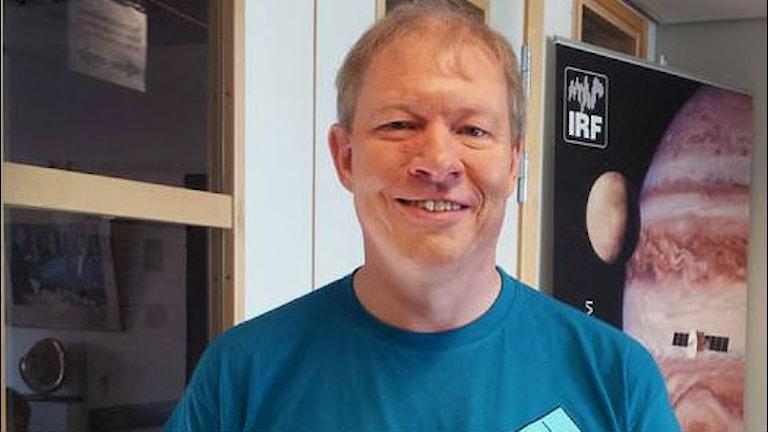 Porträtt Anders Eriksson. Foto: Tobias Abrahamsson/SR