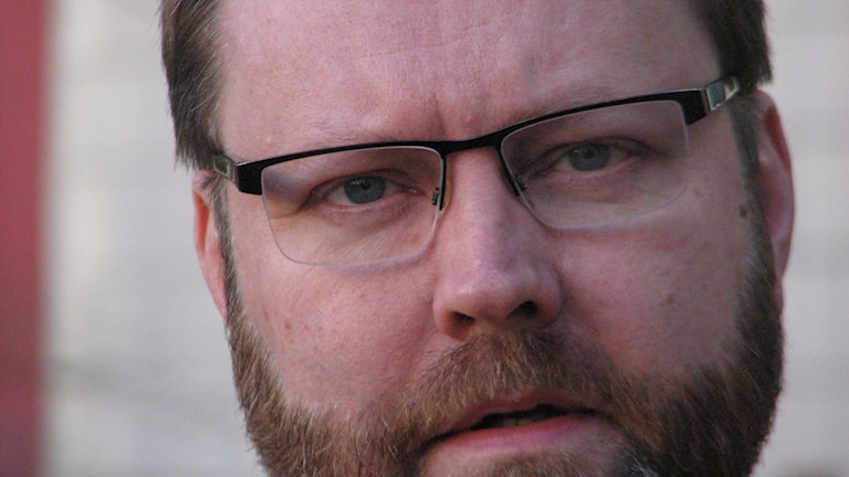 Niklas Granholm, FOI. Foto Gustaf Klarin/Sveriges Radio