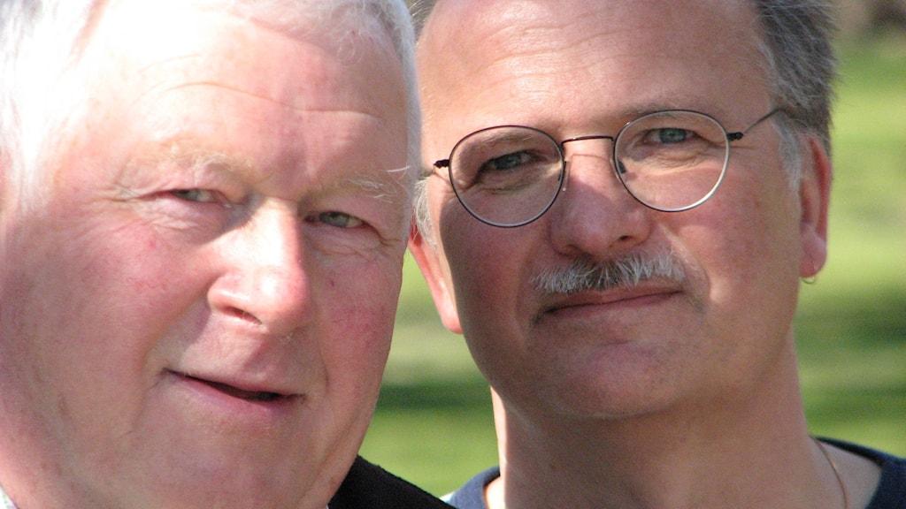 Torbjörn Fagerström och Stefan Jansson. Foto Gustaf Klarin/Sveriges Radio