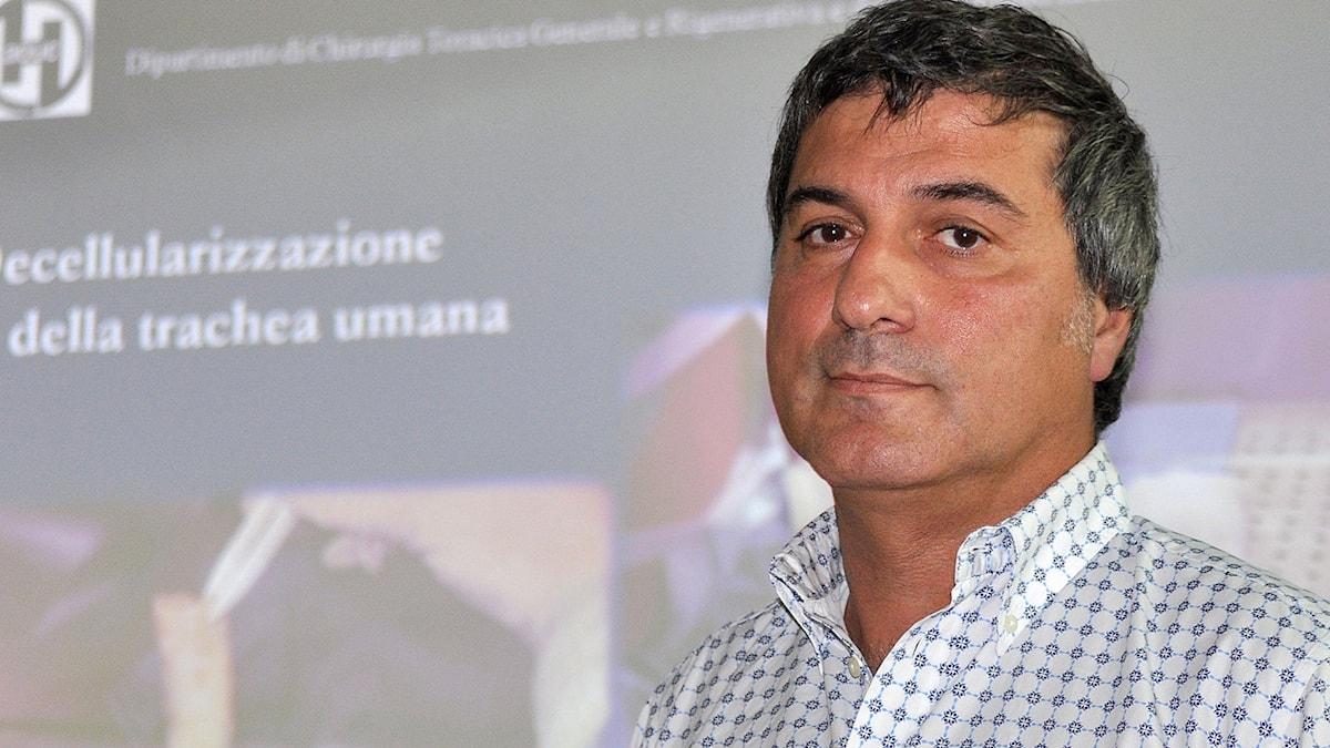 Paolo Macchiarini. Foto: TT