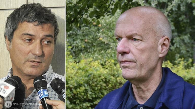 Paolo Macchiarini och Nils-Eric Sahlin