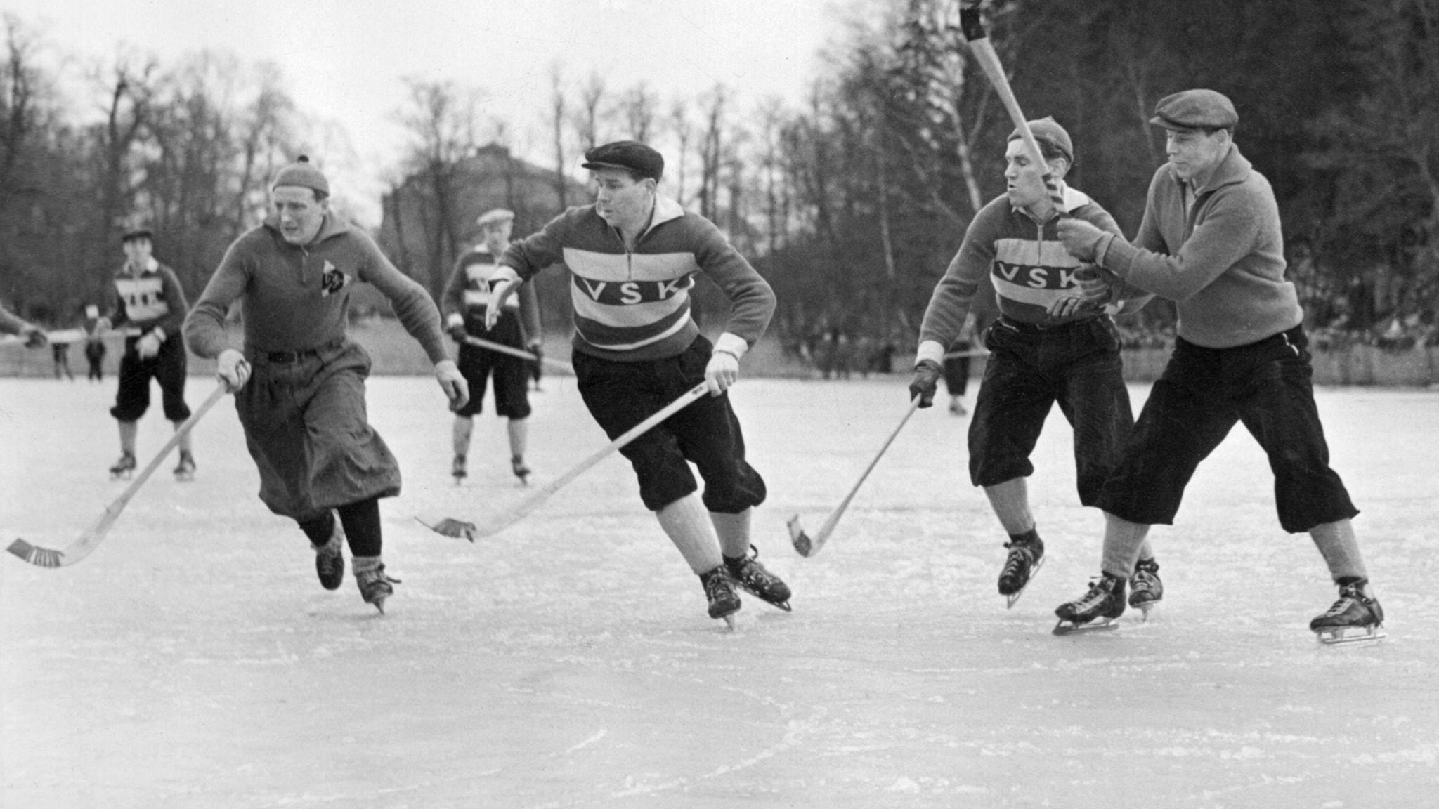 spruta Hockey borrar