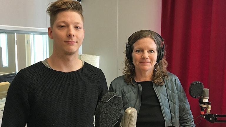 Rafael Ahlskog och Lena Nordlund