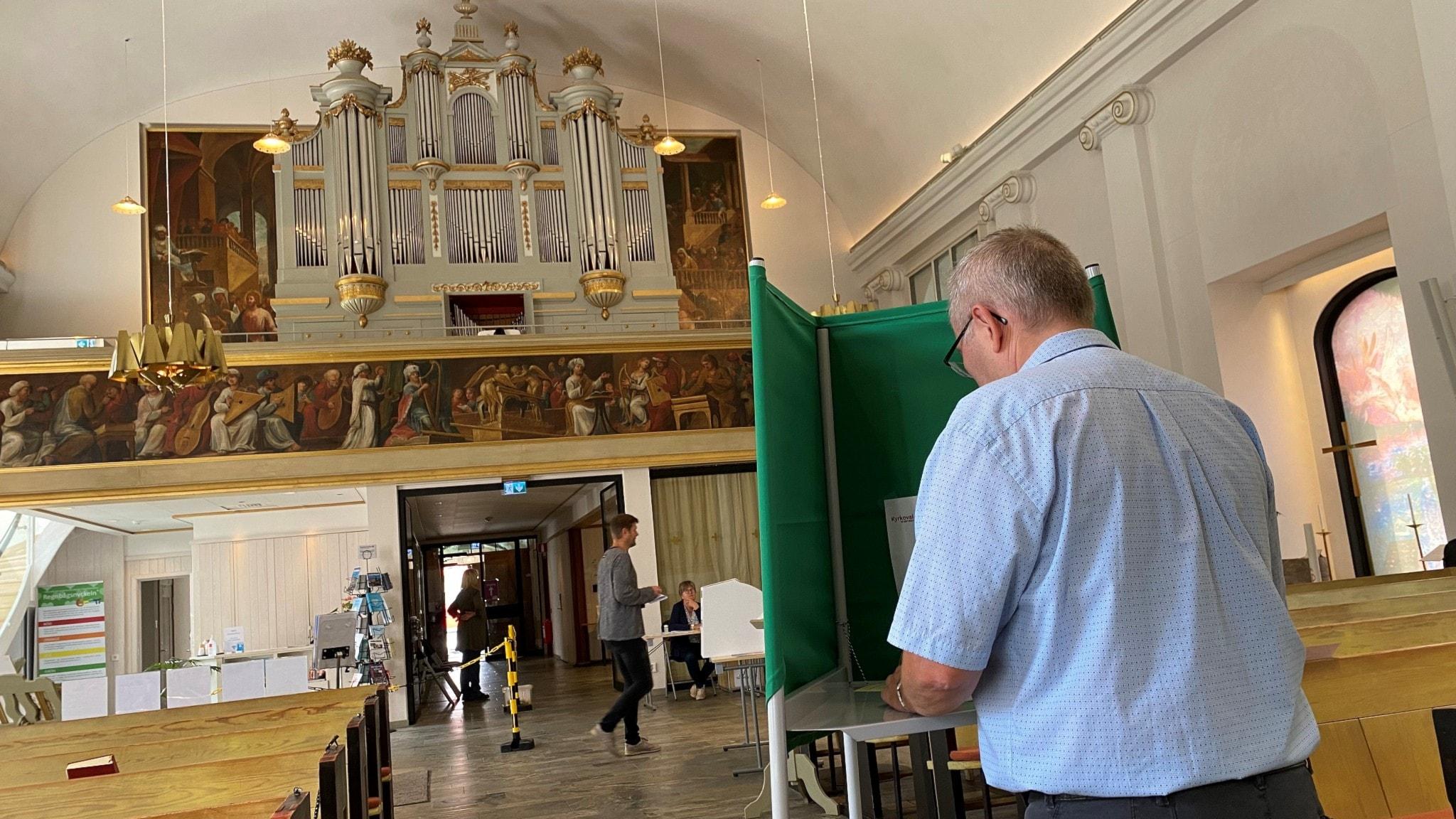 Kyrkovalet i Sankt Lars kyrka i Linköping