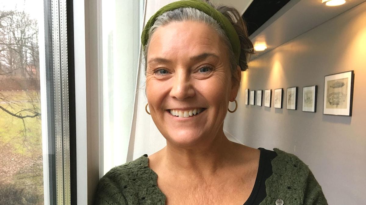 Anita Santesson, författare.