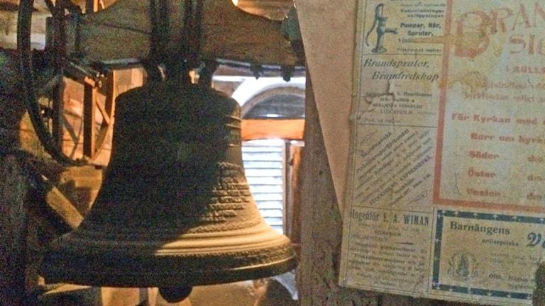 Den gamla klockan i Kulla kyrka