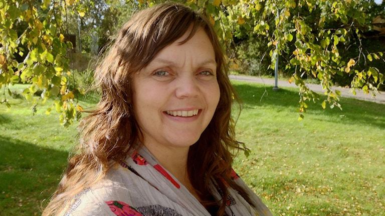 Linda Steen vill jobba som barnmorska men inte med abortvård och stämmer landstinget i Sörmland. Foto: Privat