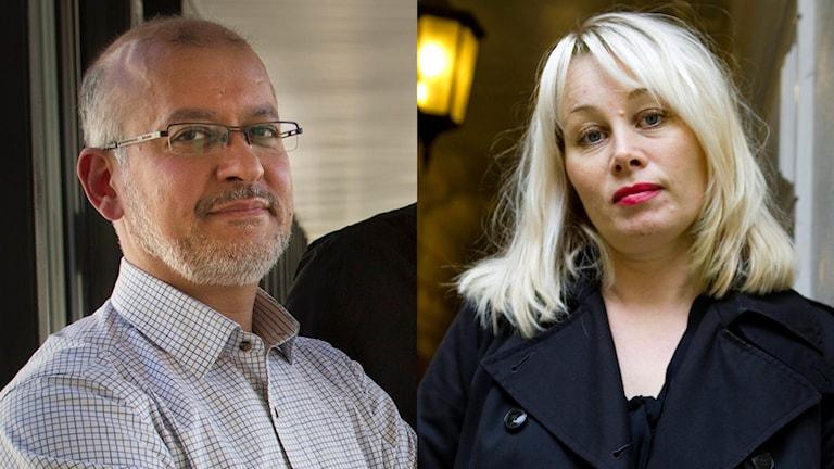 Mohammad Fazlhashemi och Ann Heberlein