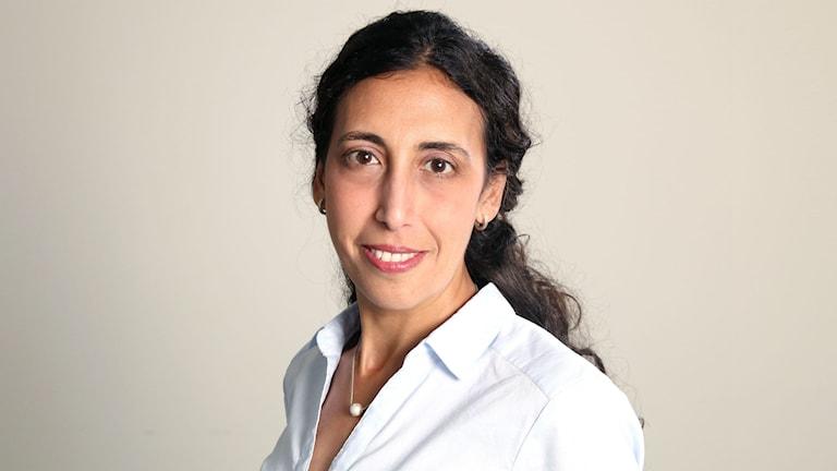 Katrin Kisswani, ordförande för Läkare Utan Gränser i Sverige. Foto: Läkare utan Gränser