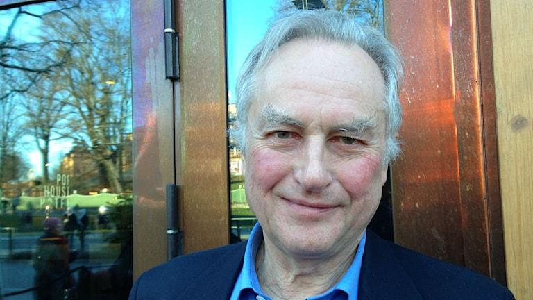 Richard Dawkins under sitt Sverigebesök. Foto: Teresa Kristofersson /SR
