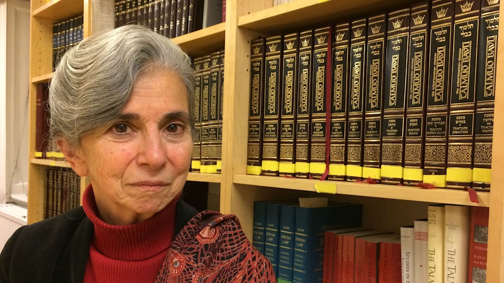 Barbara Spectre som driver Paideia tycker att judar borde stanna kvar i Europa och kämpa för det öppna samhället. Foto: Nathalie Rothschild
