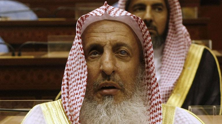 Stormuftin i Saudiarabien, Sheikh Abdul Aziz al-Sheikh. Foto: AP