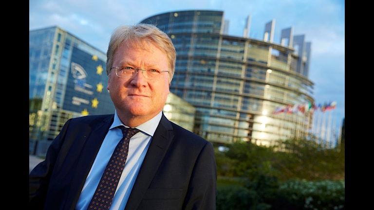 Lars Adaktusson, christdemokratischer EU-Abgeordneter (Foto: Fredrik Persson, TT)